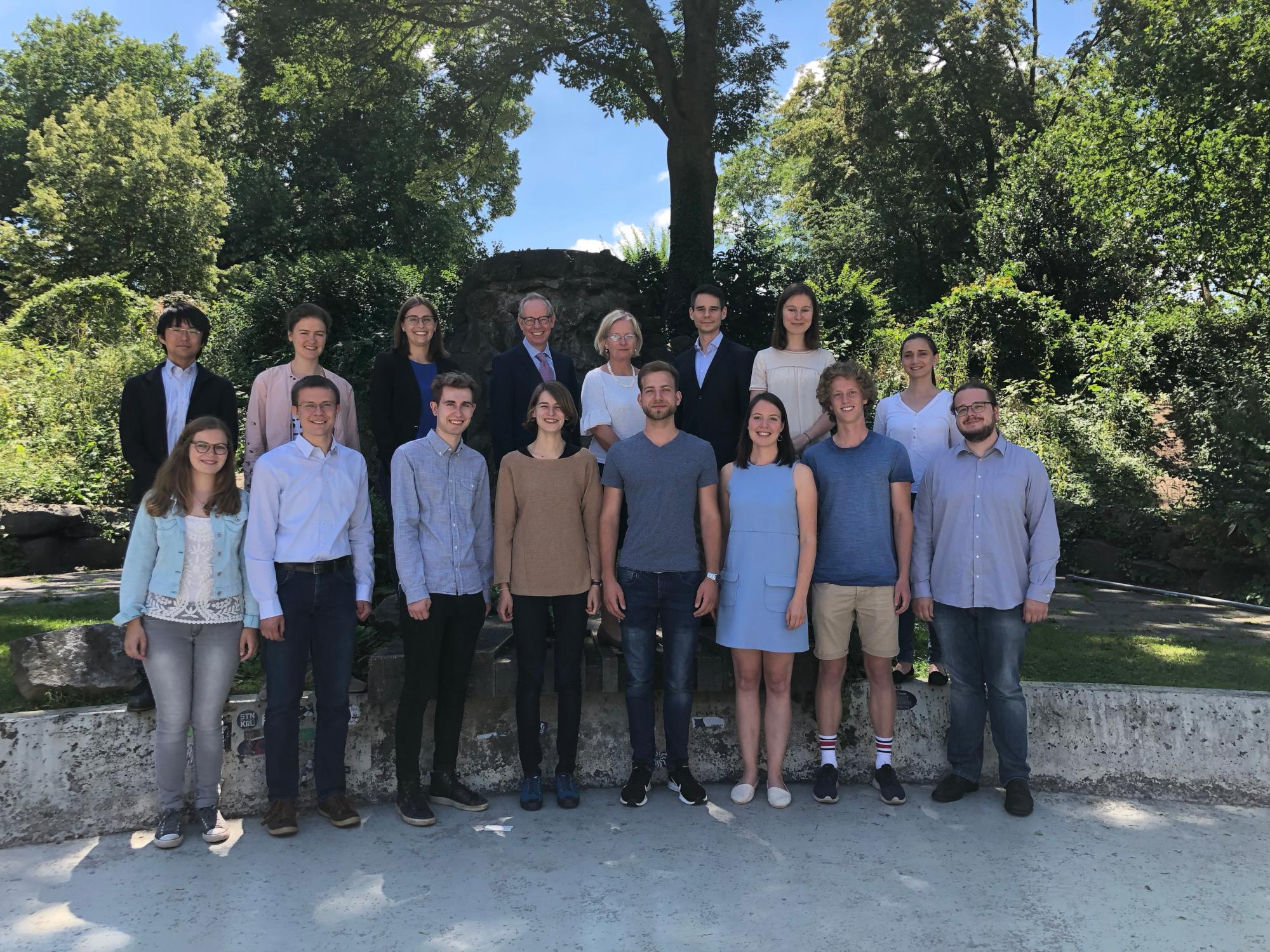 Lehrstuhlteam 2018