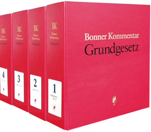 Cover des Buches 'Bonner Kommentar zum Grundgesetz • ohne Aktualisierungsservice'
