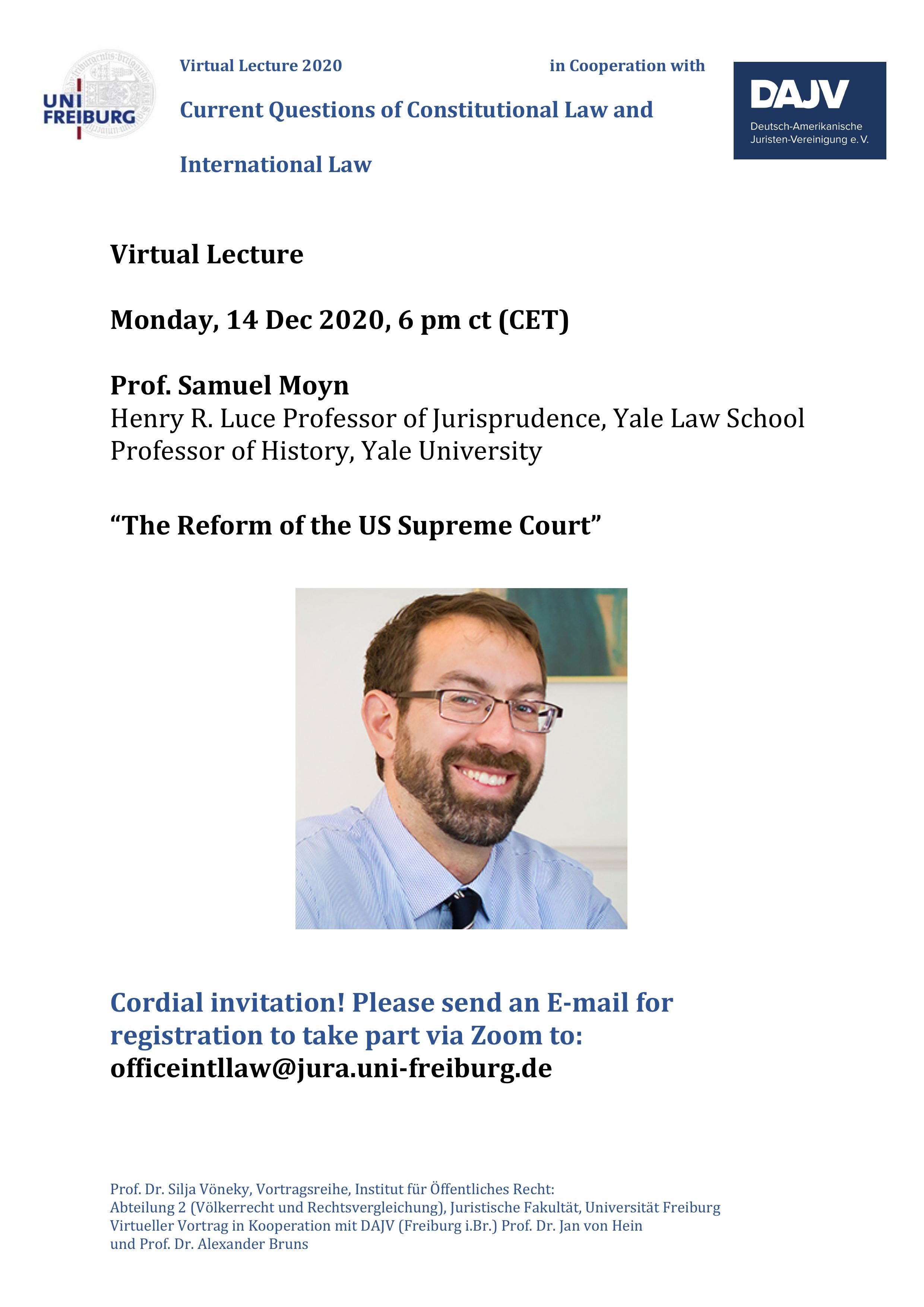 Samuel Moyn Lecture