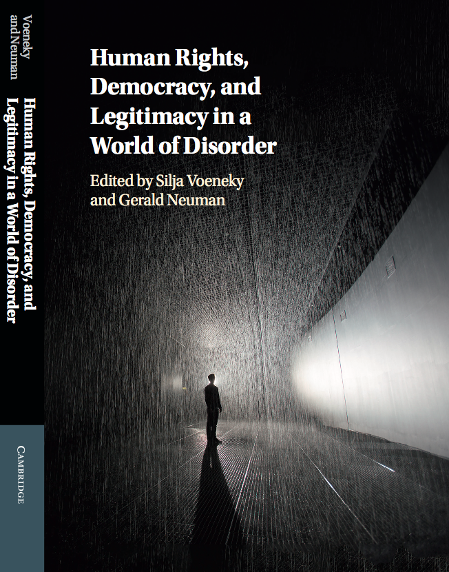 Human Rights, Democracy, and Legitimancy in a World Order Cover