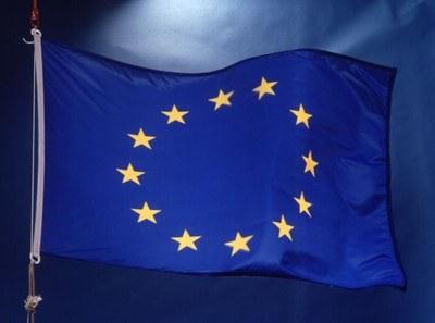 Grafik Europa-Flagge