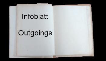 Infoblatt Outgoings Buchbutton