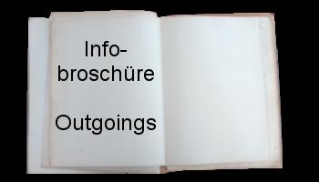Infobroschüre Outgoings Buchbutton